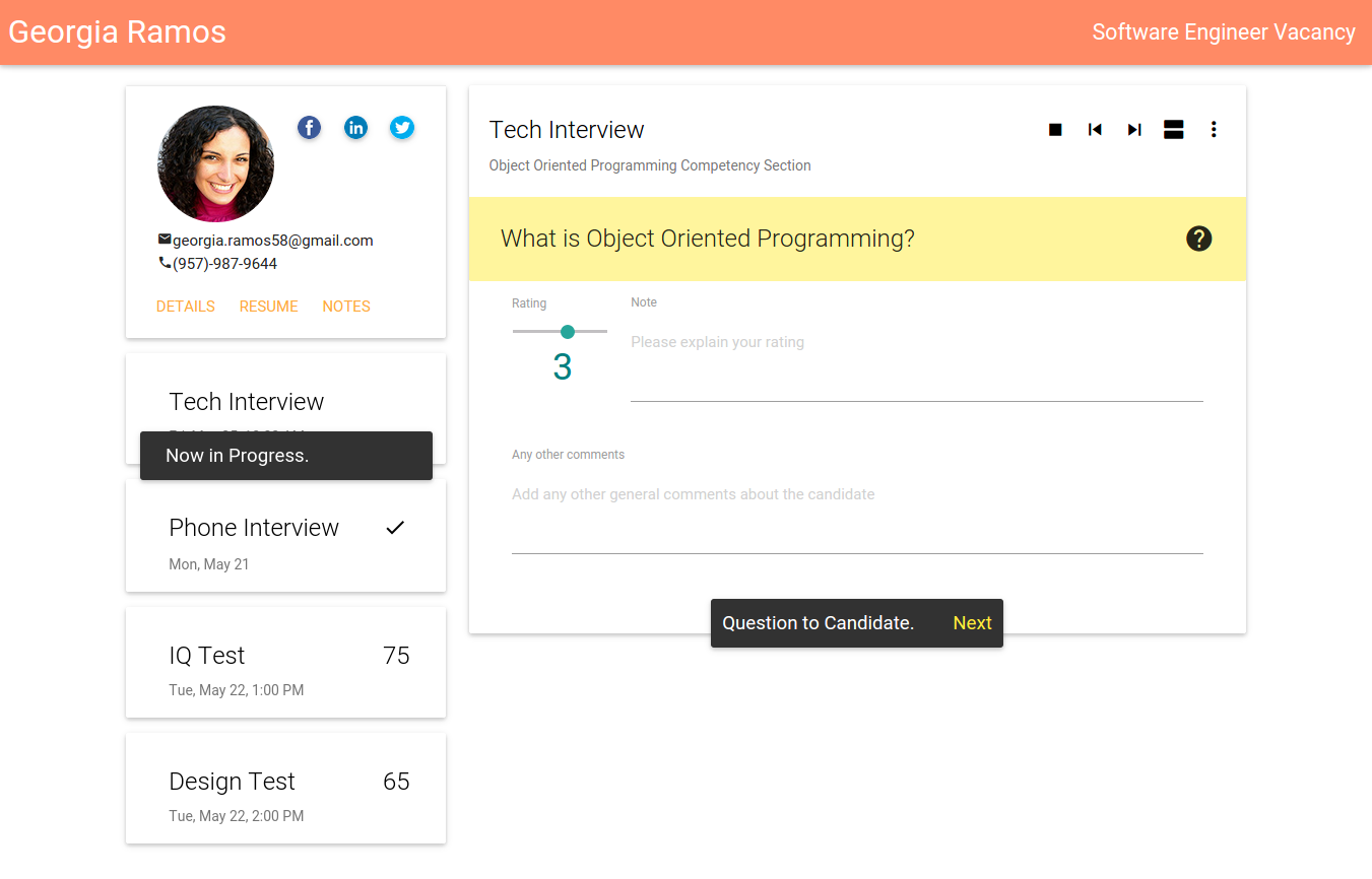 Sneak Peek: Applicant Tracking System from OrangeHRM